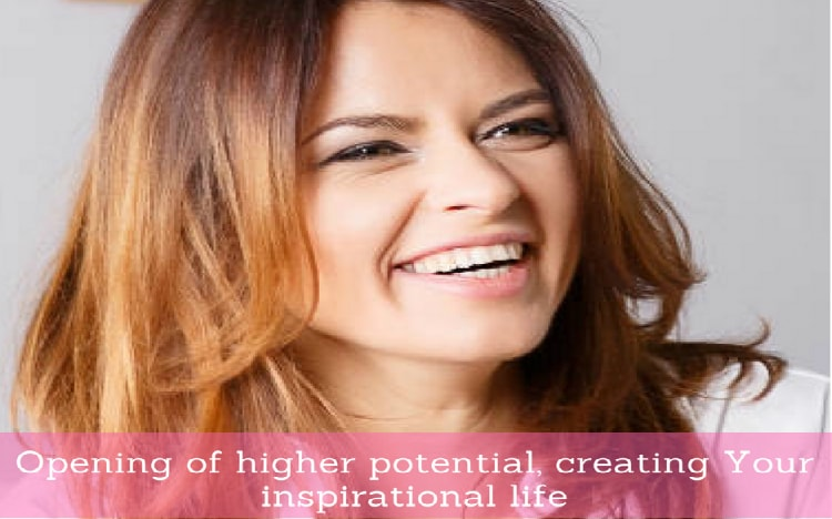 "Online course ""Opening of higher potential, creating Your inspirational life"
