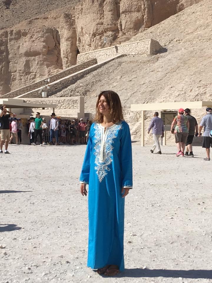 Анастасия Андерсон Луксор Египт